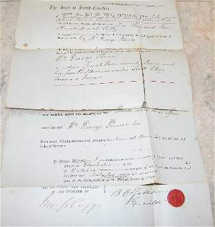 Bill of Sale for 5 Slaves- 1862.