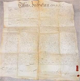 Land Indenture – 1764 – Francis Hopkinson