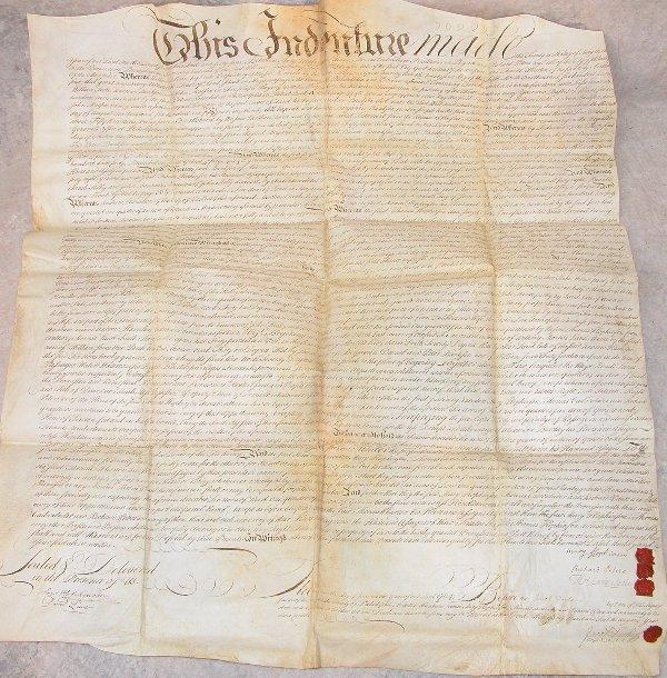 19: Land Indenture – 1764 – Francis Hopkinson