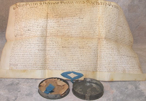 20: Land Patent-Thomas Penn 1735.
