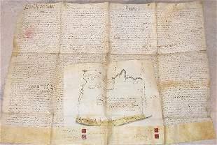 Land Indenture – 1759.