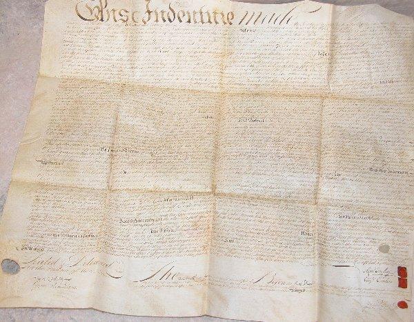 24: Land Indenture - Pennsylvania 1762.