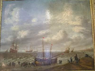 287: 19th Century Genre Painting.