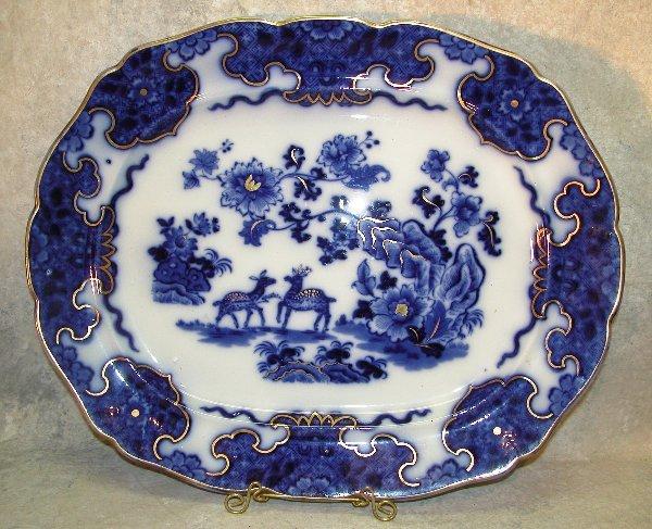 448: Flow Blue Platter – Cashmere.