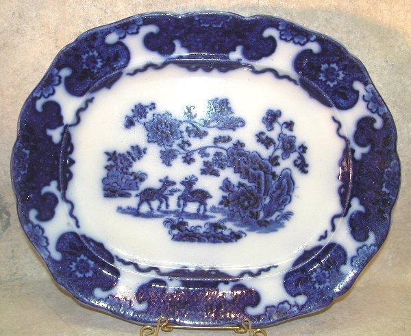 456: Flow Blue Platter – Cashmere.