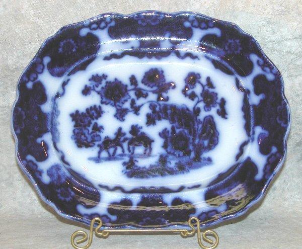 462: Flow Blue Platter – Cashmere.