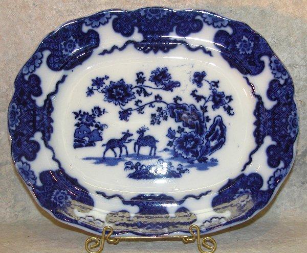 463: Flow Blue Platter – Cashmere.