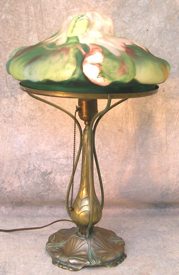 757: Pairpoint Table Lamp.