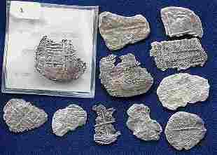 Atocha Coin Fragments.