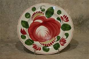 Cabbage Rose Plate.