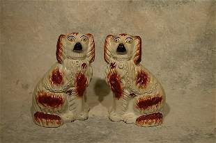 Pair of Staffordshire Dogs.