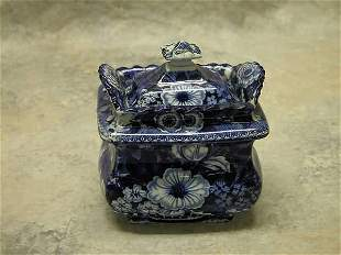Historical Blue Sugar Bowl.