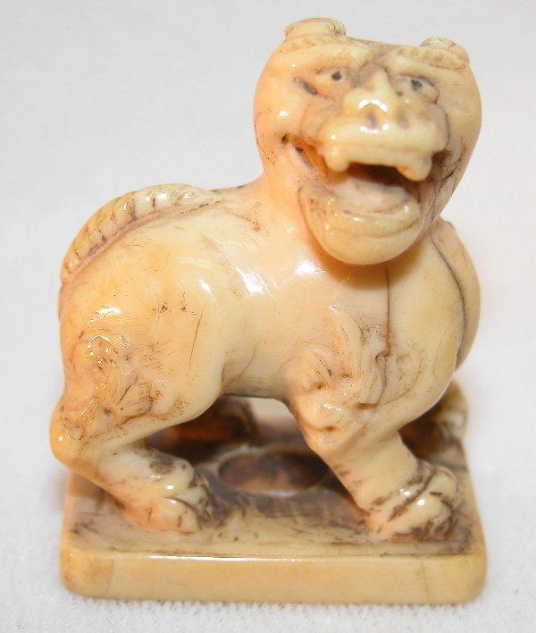 3: Carved Ivory Netsuke.