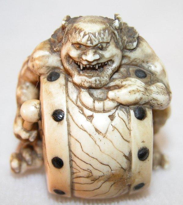12: Carved Ivory Netsuke.