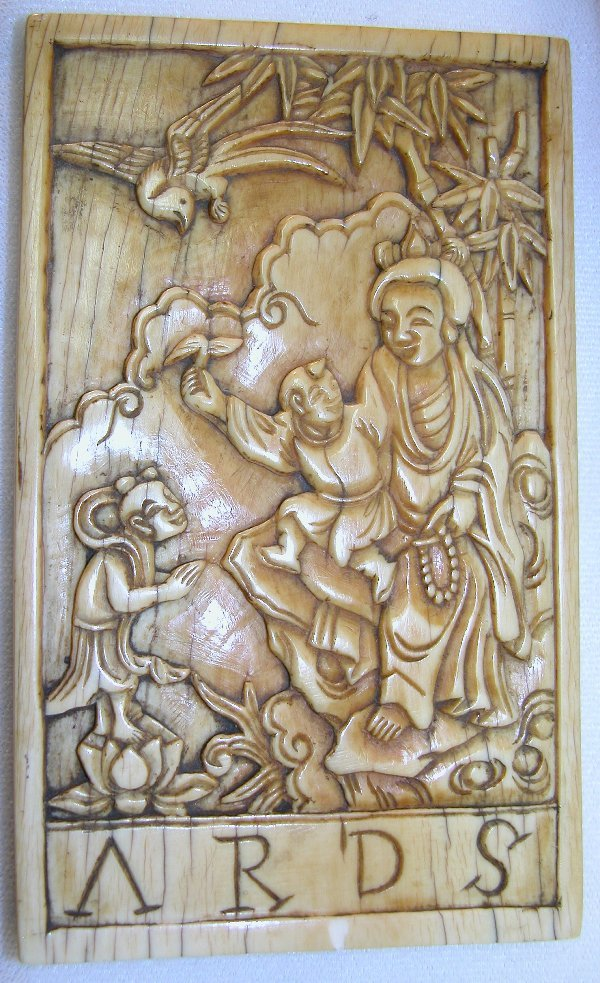 14: Carved Ivory Plaque.