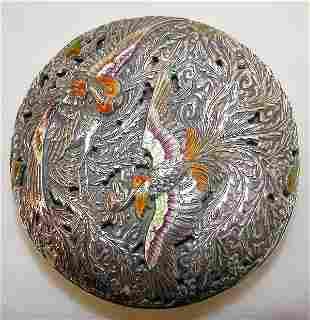 Japanese Silver Kogo.