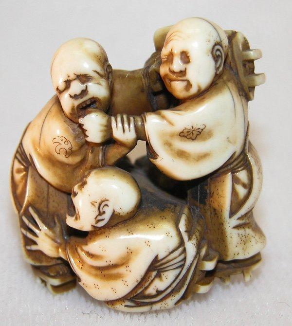 17: Carved Ivory Netsuke.