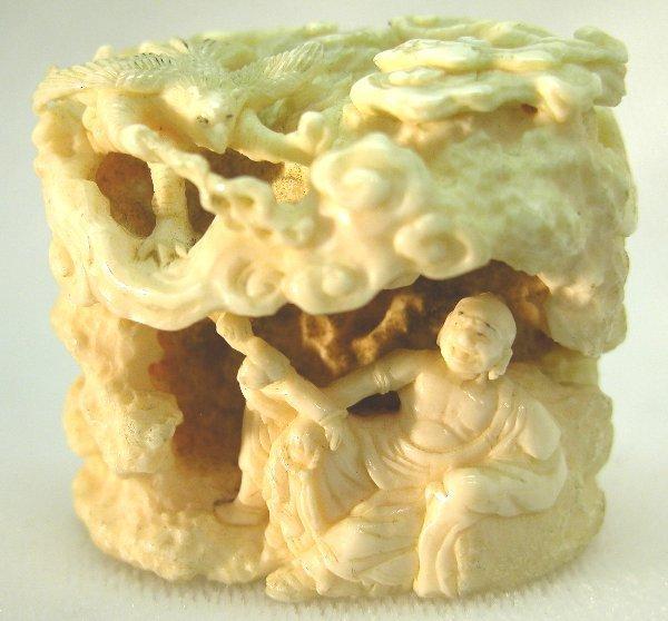20: Carved Ivory Netsuke.