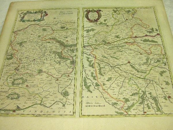 1001: 17th Century Map by Blaeu