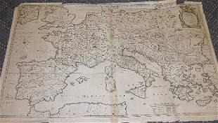 17th Century Map by Bertius