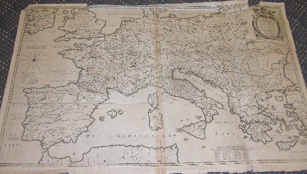 1006: 17th Century Map by Bertius