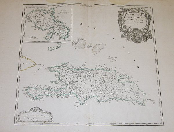 1007: 18th Century Map by Vagondy