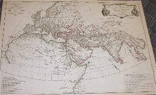 18th Century Map by D'Anville