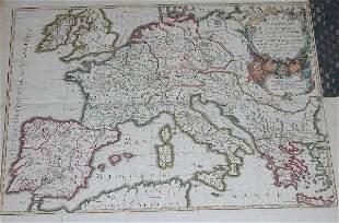 18th Century Map by Vaugondy