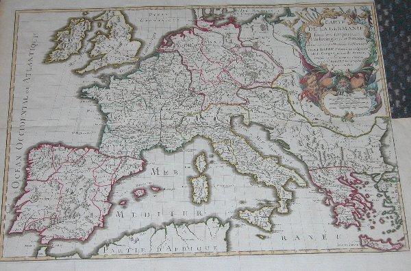 1010: 18th Century Map by Vaugondy