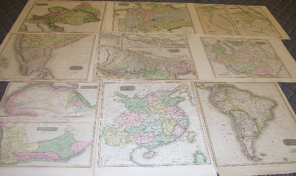 1013: Grouping of Early 19th Century Maps
