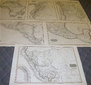 Early 19th Century Map Grouping