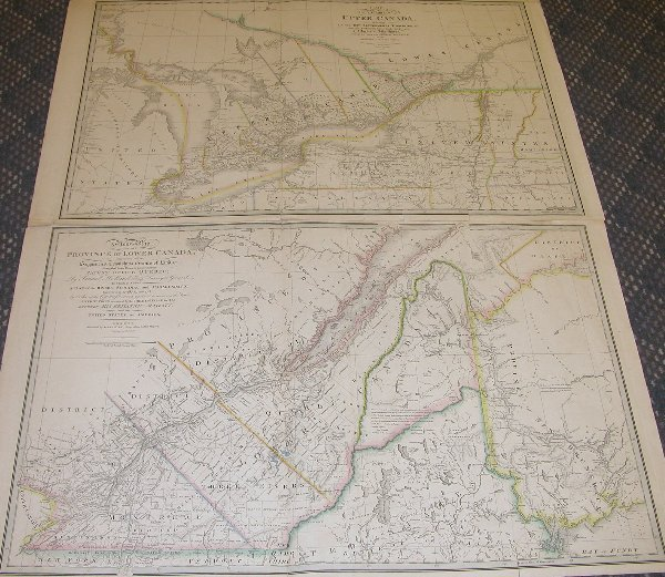 1015: Pair of Early 19th Century Maps of Canada