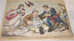 1017: Early 19th Century Political Print