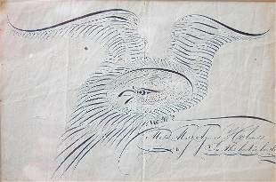 Calligraphy Eagle