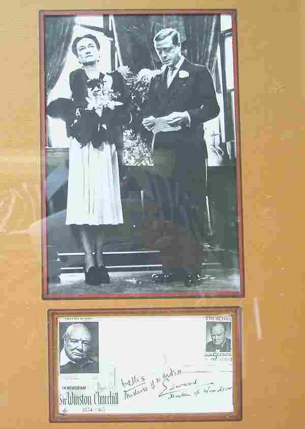 Edward and Wallis (Duke and Duchess of York) Auto