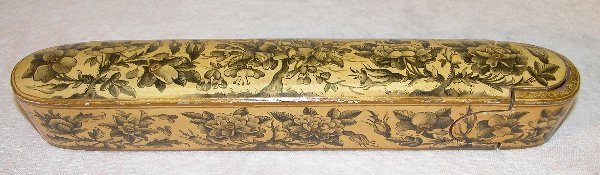 1558: Antique Persian Cigar Box.