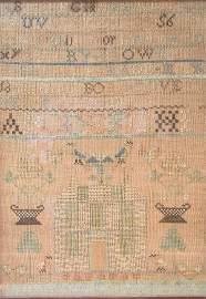 1908: Sampler - Brown.