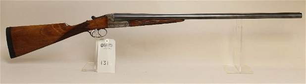 WC Scott side by side double barrel shotgun