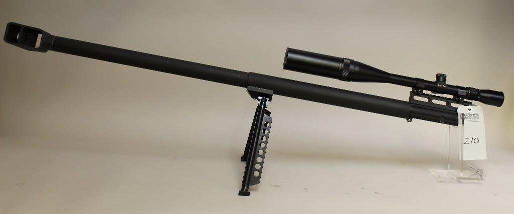 DJHT 50BMG upper designed for AR-15 applications. - 3