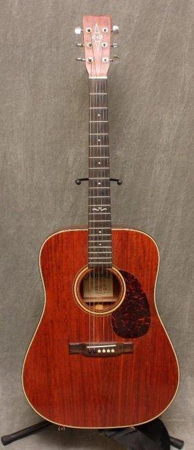 321 washburn acoustic guitar model d 10m tbl lot 321. Black Bedroom Furniture Sets. Home Design Ideas