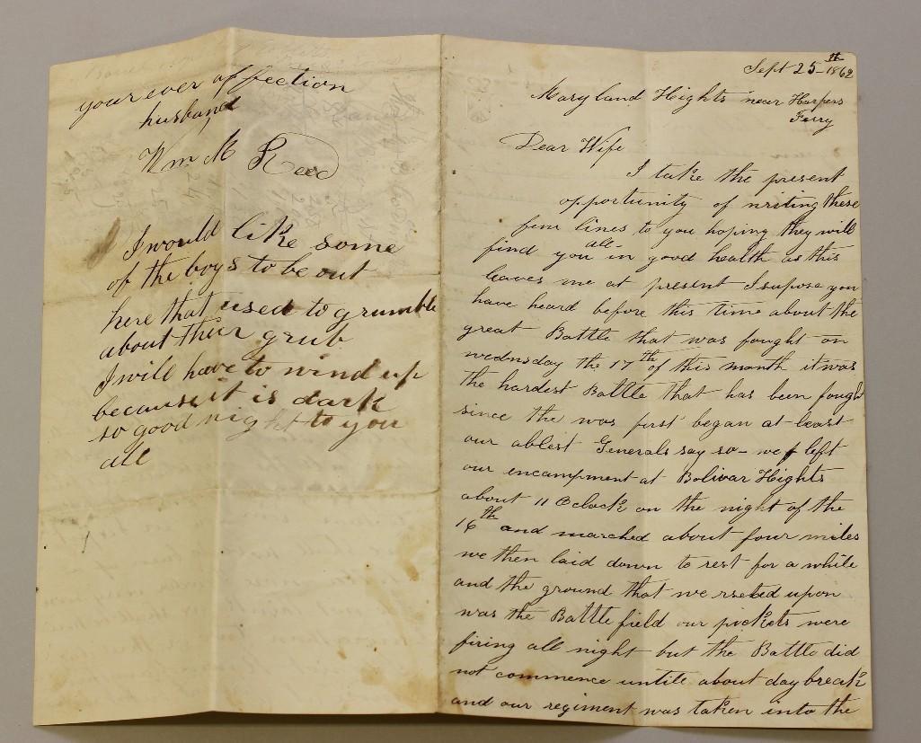 Pair of Civil War Letters
