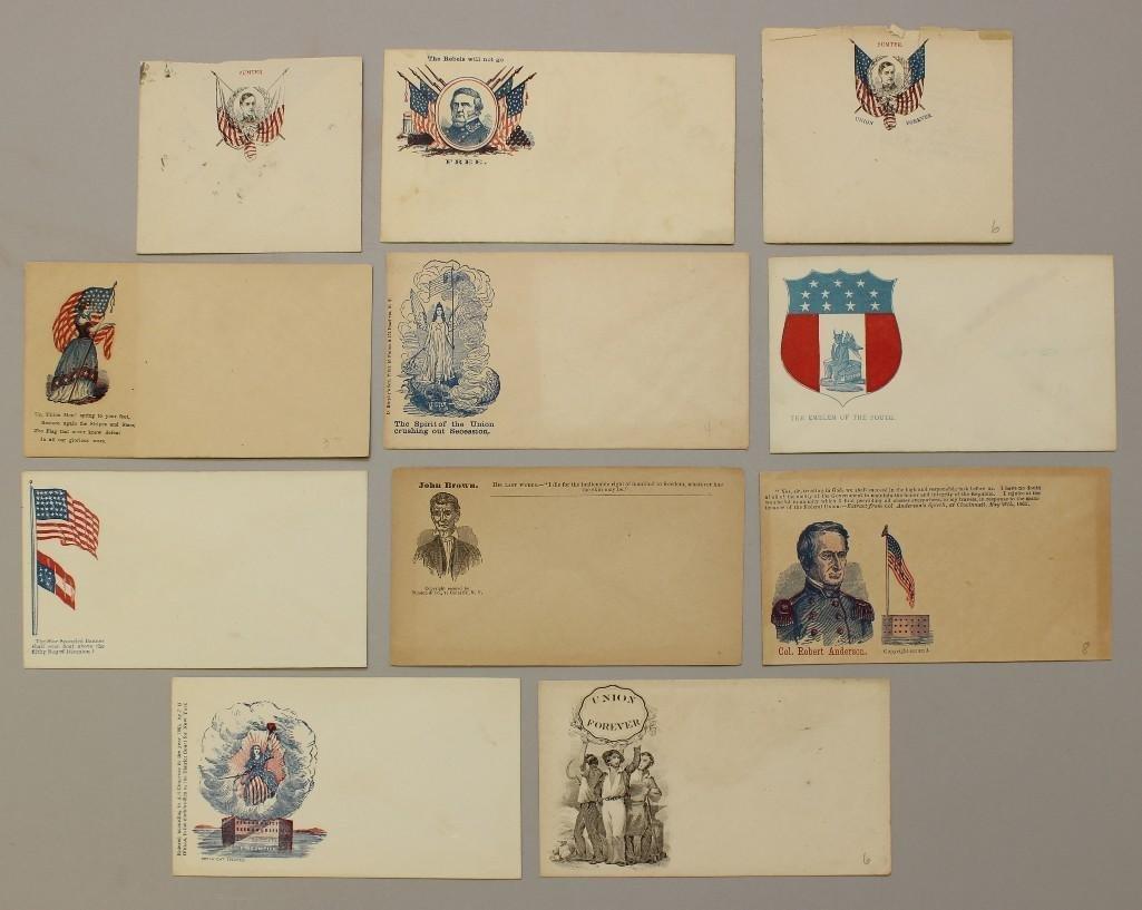 Group of Civil War Patriotic Covers