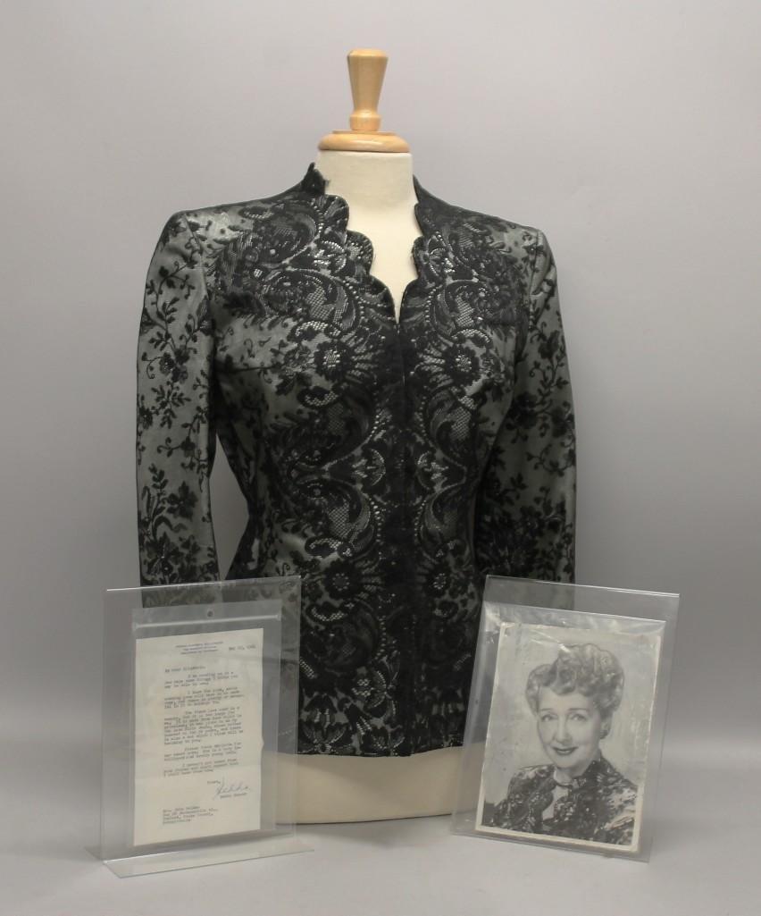 Hedda Hopper Owned Dinner Jacket with Provenance