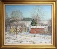 "Mildred S. Gehman (1908-2006, Pennsylvania) ""Rural"