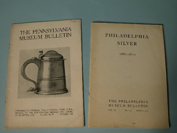 9: Two Philadelphia Silver/Silvermiths Exhibition Catal
