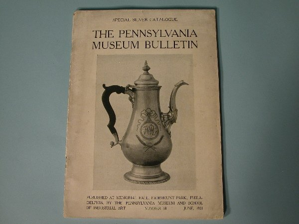 11: Philadelphia Silver Exhibition Catalogue 1921