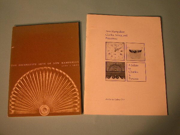 13A: Two New Hampshire Exhibition Catalogues