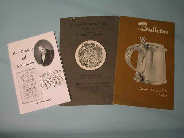 20: John Coney Monteith Auction Catalogue and MFA  Bull