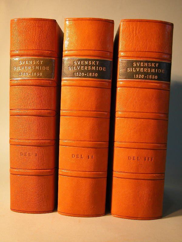 407: Swedish Silversmiths 1520-1850-Three Volume Set