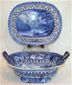 1372: Staffordshire Compote with Under-Tray.